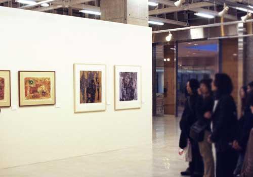 「崇高なる現在-世界の版表現と教育の現場より-」武蔵野美術大学美術資料図書館